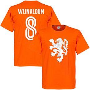 Holland Wijnaldum Lion Tee - Orange