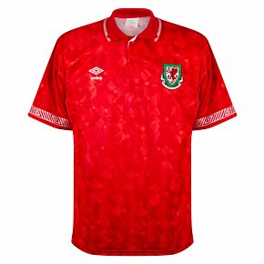 Umbro Wales Home Shirt - USED Condition ******* TIM to detail