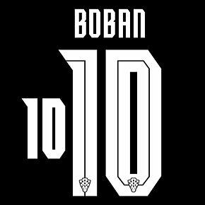 Boban 10 (Official Printing) - 20-21 Croatia Away