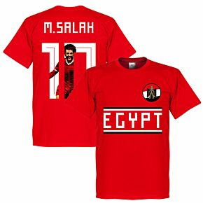 Egypt M. Salah 10 Gallery Team Tee - Black