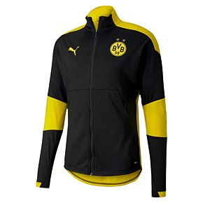 20-21 Borussia Dortmund Training Jacket - Black/Yellow