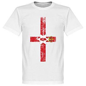 Northern Ireland Flag Tee - White