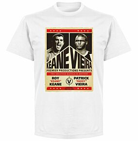Keane v Viera Battle T-shirt - White