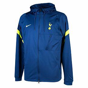 21-22 Tottenham FZ Hooded Jacket - Navy
