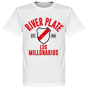 River Plate Established Tee - White