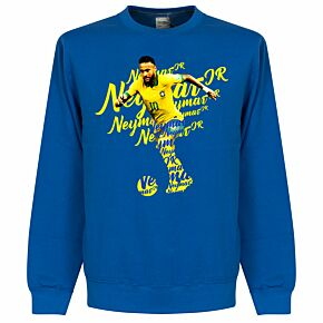 Neymar Script KIDS Sweatshirt - Royal