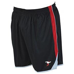 Precision Training Roma Shorts - Black/Red/Silver