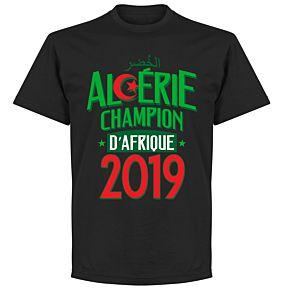 Algeria Champions of Africa Tee - Black