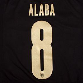 Alaba 8 (Official Printing) - 20-21 Austria Away
