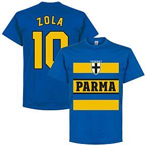 Parma Zola 10 Retro Stripe Tee - Royal