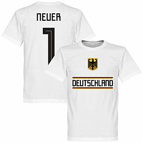 Germany Neuer 1 Team Tee - White