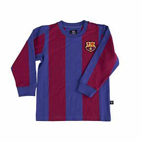 COPA 'My First Football Shirt' FC Barcelona L/S Retro Shirt - KIDS