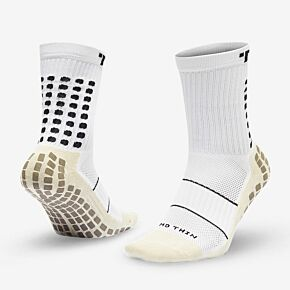 Trusox Mid-Calf Thin 2.0 Professional Socks - White/Black
