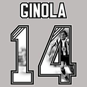 Ginola 14 (Gallery Style) 1995 Newcastle Local