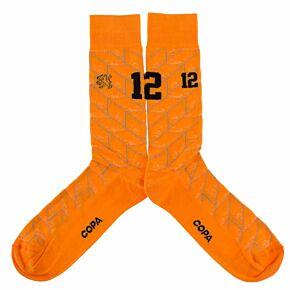 Holland 1988 Retro Socks (Size UK 7-11 / EU 40-46)