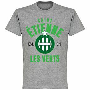 Etienne Established Tee - Grey Marl