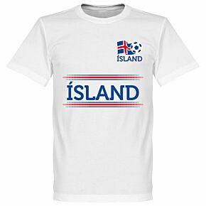 Island Team Tee - White