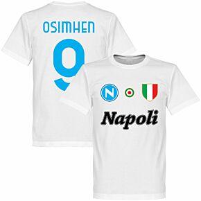 Napoli Careca 9 Team Tee - White