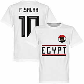 Egypt Salah 10 KIDS Team Tee - White