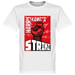 Harry Kane's Strike Tee - White
