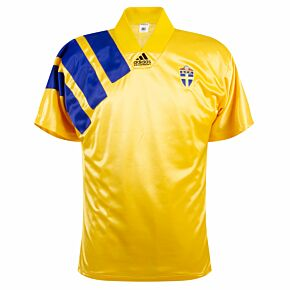 adidas Sweden 1992-1994 Home Fan Shirt - USED Condition (Great) - Sportpro - Size M