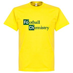 Football Chemistry Tee - Yellow