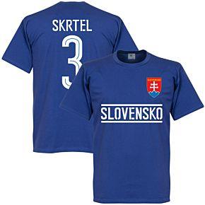 Slovakia Skrtel Team Tee - Royal