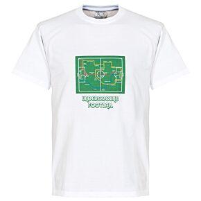 Underground Football Tee - White