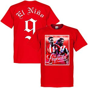 Torres El Niño 9 Atletico Legend Tee - Red