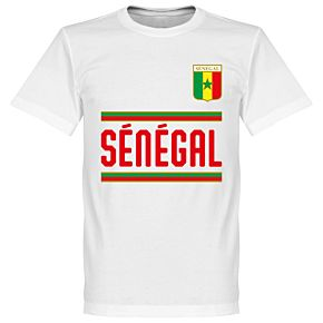 Senegal Team Tee - White