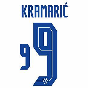 Kramarić 9 (Official Printing) - 20-21 Croatia Home
