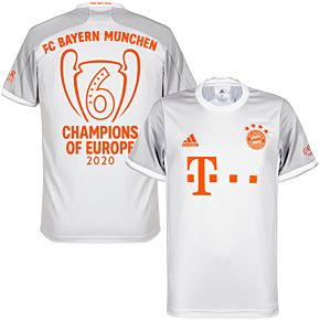 20-21 Bayern Munich Away Shirt + Champions of Europe 2020