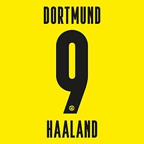 Haaland 9 (Official Printing) 20-21 Borussia Dortmund Home KIDS