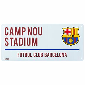 Barcelona Street Sign - 40cm x 18cm