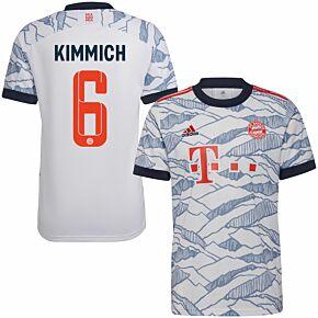 21-22 Bayern Munich 3rd Shirt + Kimmich 6 (Official Printing)