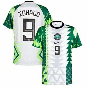 20-21 Nigeria Vapor Match Home Shirt + Ighalo 9 (Official Printing)