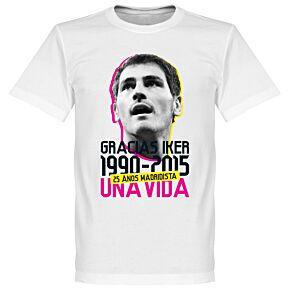 Gracias Iker Casillas Tee - White