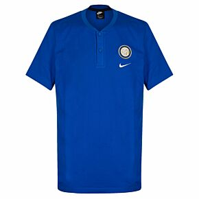 Nike Inter Milan NSW Modern GSP Polo Shirt - Blue/White 2019-2020