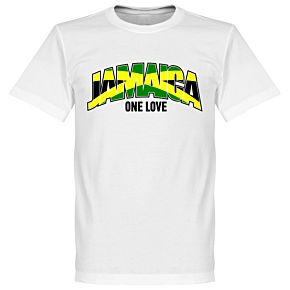 Jamaica One Love Tee - White