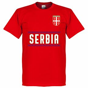 Serbia Team Tee - Red