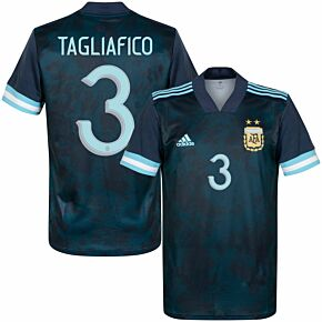 20-21 Argentina Away Shirt + Tagliafico 3 (Official Printing)