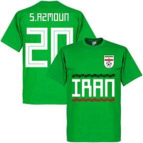 Iran Azmoun 20 Team Tee - Green