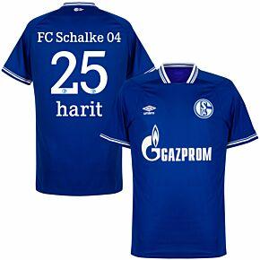 20-21 Schalke 04 Home Shirt + Harit 25 (Official Printing)