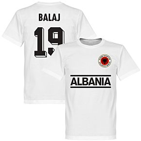 Albania Balaj 19 Team Tee - White