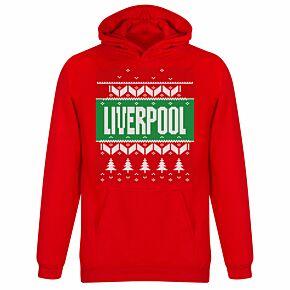 Liverpool KIDS Christmas Hoodie - Red