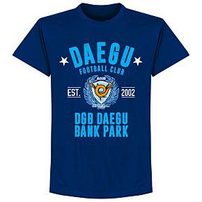 Daegu Established T-shirt - Ultramarine