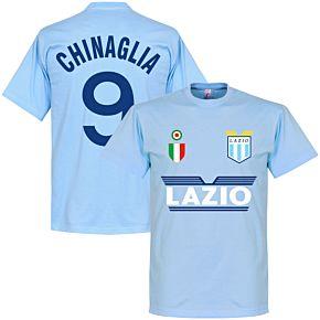 Lazio Chinaglia 9 Team Tee - Sky