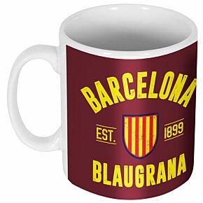 Barcelona Established Ceramic Mug
