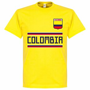 Colombia Team Tee - Yellow