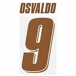 Osvaldo 9 - 07-08 Fiorentina Home Official Name and Number